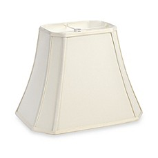 image of mix u0026 match medium 12inch cutcorner rectangular lamp shade in - Large Lamp Shades