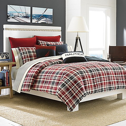 Nautica Mainsail Plaid Comforter Set Bed Bath Beyond