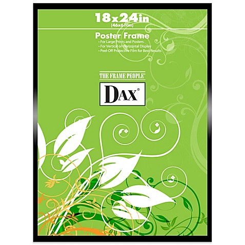 Buy DAX® Black Metal 18-Inch x 24-Inch Poster Frame from ...