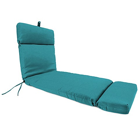 72 Inch X 22 Inch Chaise Lounge Cushion In Husk Texture