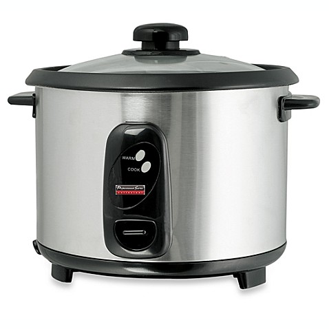 buy professional series 10 cup stainless steel rice cooker. Black Bedroom Furniture Sets. Home Design Ideas