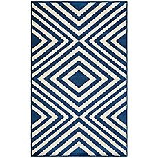 image of Momeni Baja Indoor/Outdoor Rug in Navy