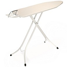 image of Brabantia® 49-Inch x 15-Inch Ironing Table with Ivory Frame and Ecru Cover