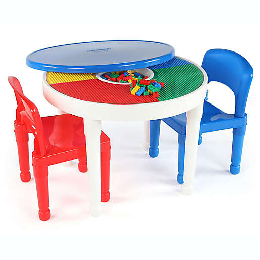 Lego Compatible Activity Table, Lego Table With Chairs India