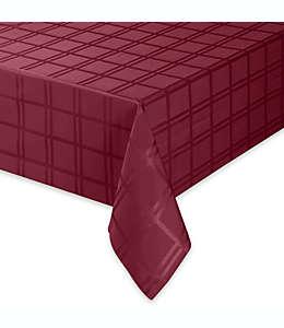 Mantel redondo Origins™ de microfibra de 1.52 m en rubí