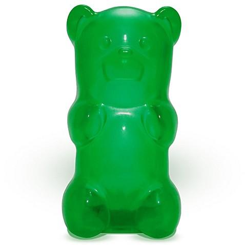 gummygoods gummy bear nightlight in green bed bath beyond