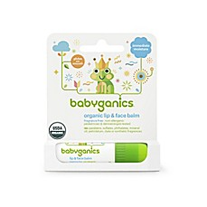 image of Babyganics® 0.25 oz. Fragrance Free Lip and Face Balm