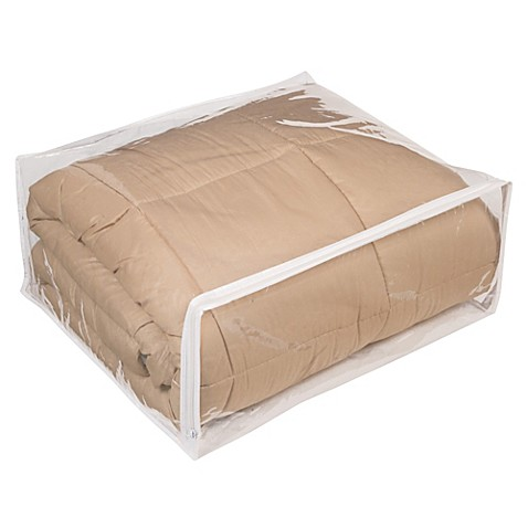 Image Of Closetware Clear Comforter Bag