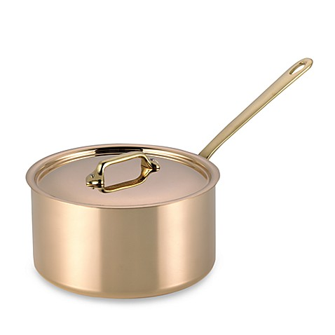 Mauviel m 39 heritage 150b cuprinox pour la table copper 3 6 for Sur la table 6 quart