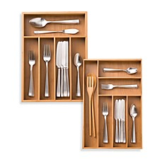 Image Of Bamboo Cutlery Tray
