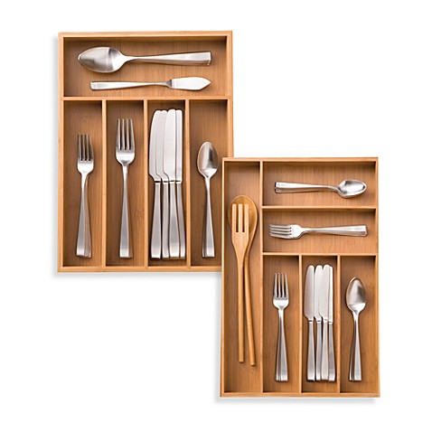 Kitchen Drawers Organizers kitchen drawer organizers & dividers | utensil organizers - bed