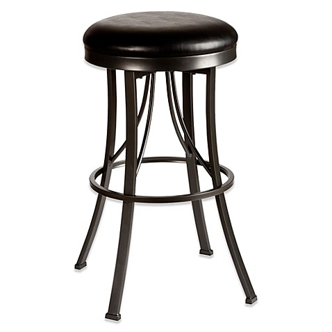 Buy Hillsdale Ontario 30 Inch Backless Swivel Bar Stool