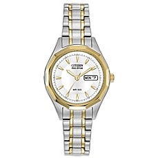 image of Citizen Ladies Eco-Drive Two-Tone Stainless Steel Sport Watch