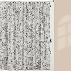 image of Creative Bath™ Sketchbook Shower Curtain