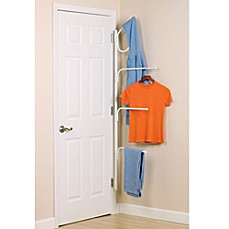 image of Household Essentials® Clutterbuster™ Valet Hanger and Towel Bar