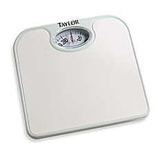 Image Of Metro Ez Read Dial Bathroom Scale In White