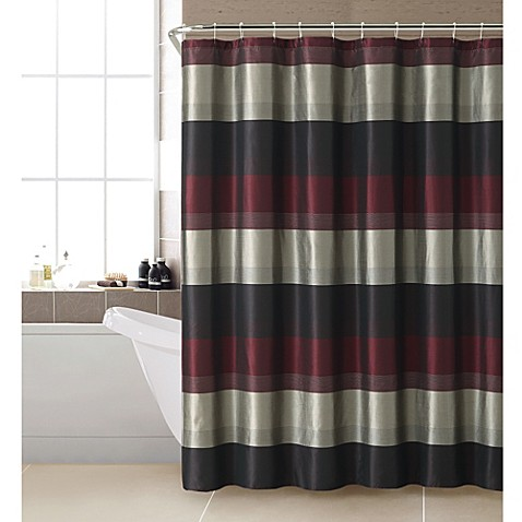 Buy Hudson Shower Curtain In Red From Bed Bath Amp Beyond