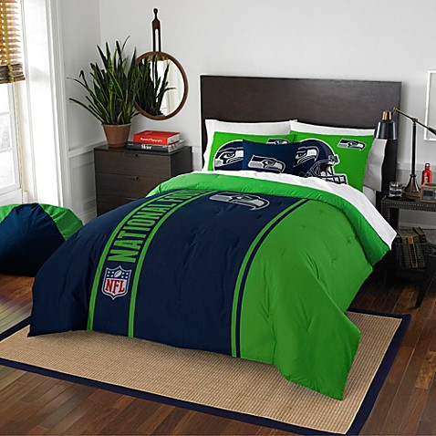 nfl seattle seahawks bedding - bed bath & beyond