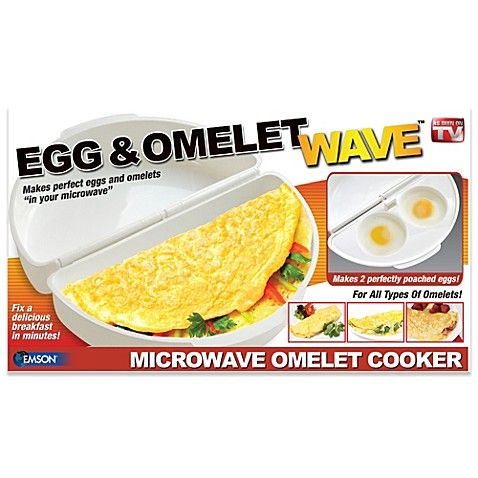Egg N Omelette Wave Microwave Cooker