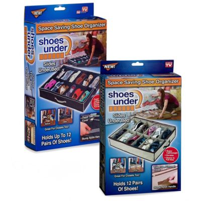 Shoes Under Shoe Storage Organizer Bed Bath Beyond