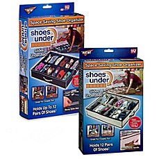 image of Shoes Under™ Shoe Storage Organizer