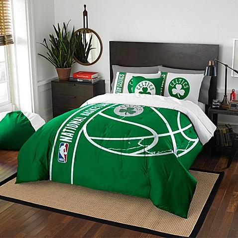 Nba Boston Celtics Comforter Set Bed Bath Amp Beyond