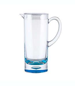Jarra con burbuja en el fondo de 1.79 L en azul