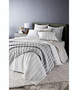 Funda para almohada euro O&O by Olivia & Oliver™ Hash Tag  color gris