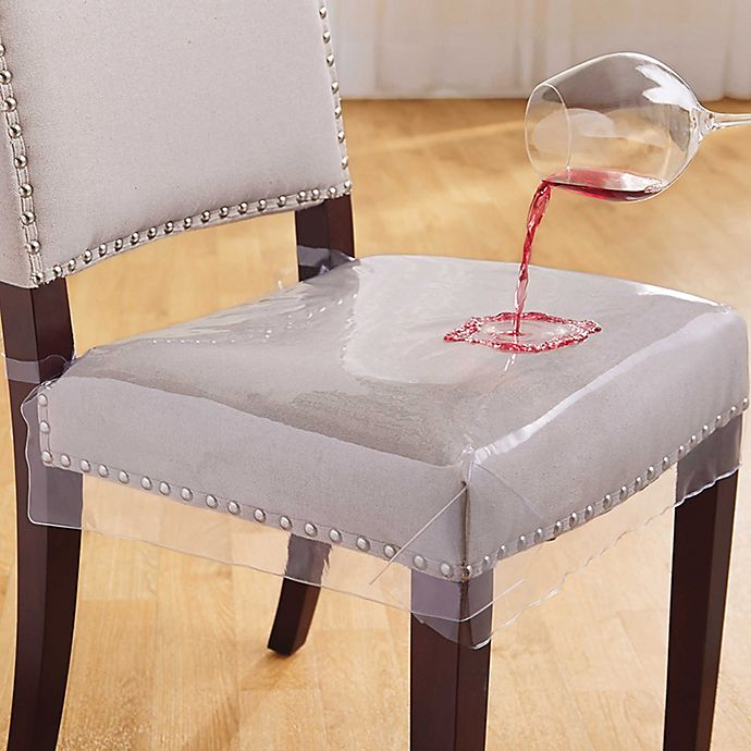 Salt Clear Chair Seat Protectors Set Of 2 Bed Bath Beyond