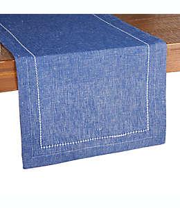 Camino de mesa de algodón Our Table™ de 1.82 m color azul sodalita