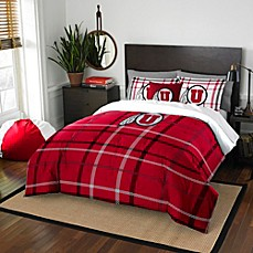 image of University of Utah Embroidered Comforter Set