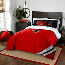 image of North Carolina State University Embroidered Comforter Set