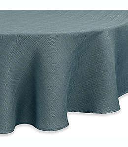 Mantel redondo para mesa Noritake® en turquesa