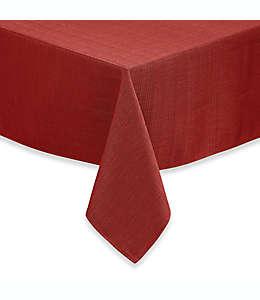 Mantel de poliéster Noritake® 3.04 x 1.52 m color rojo