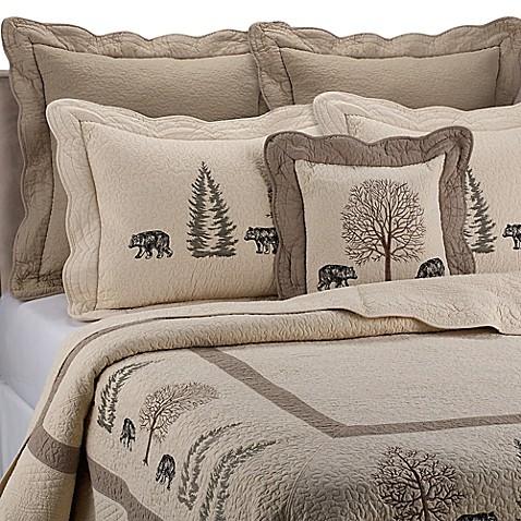 Donna Sharp Bear Creek Quilt Bed Bath Amp Beyond