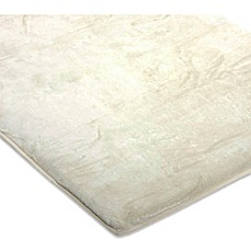 image of Arm's Reach Ideal Co-Sleeper® Plush Fitted Sheet in Natural