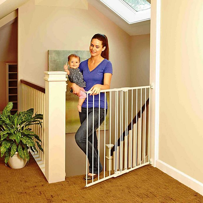 Toddleroo By North States Tall Easy Swing Lock Gate Buybuy Baby