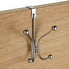 image of InterDesign® York Over-the-Door Quad Hook