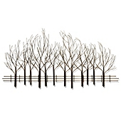 Forest Wall Art b.j. keith metal forest wall art - bed bath & beyond