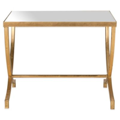 image of Safavieh Maureen Accent Table in Gold