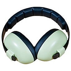 image of Baby Banz Size 0-12 Years earBanZ Hearing Protection in Baby Green