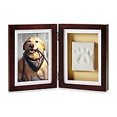 image of Pearhead Pawprints 4-Inch x 6-Inch Desk Frame