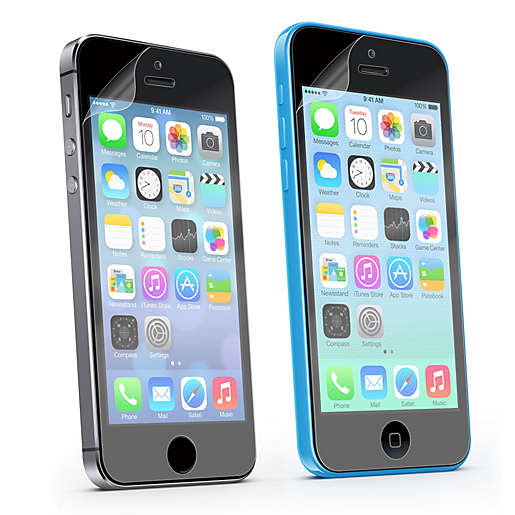 2-Pack Sharper Image Screen Guards for the iPhone 5S and 5C