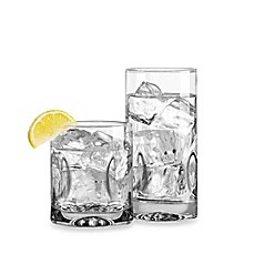 image of Dailyware™ Impressions 16-Piece Glassware Set