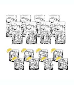 Vasos de vidrio Dailyware™ Impressions, Set de 16