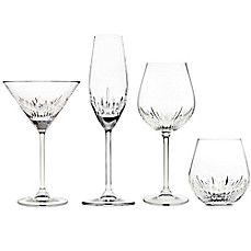 image of Top Shelf Sculpt Cut Crystal Barware