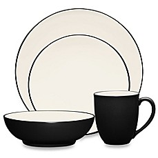 image of Noritake® Colorwave Coupe Dinnerware Collection in Graphite