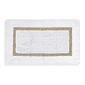 kassatex baratta turkish cotton bath rug in whitetaupe - Kassatex