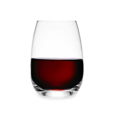 image of Luigi Bormioli Michelangelo Masterpiece Sparkx® Stemless Wine Glasses (Set of 4)