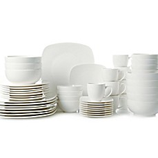 image of Gibson Home Madison Court 48-Piece Dinnerware Set  sc 1 st  Bed Bath \u0026 Beyond : bed bath beyond dinnerware - pezcame.com
